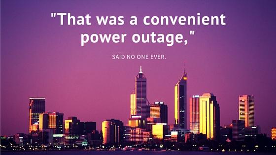 Convenient power outage